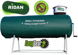 Large Ridan composter for catering food waste
