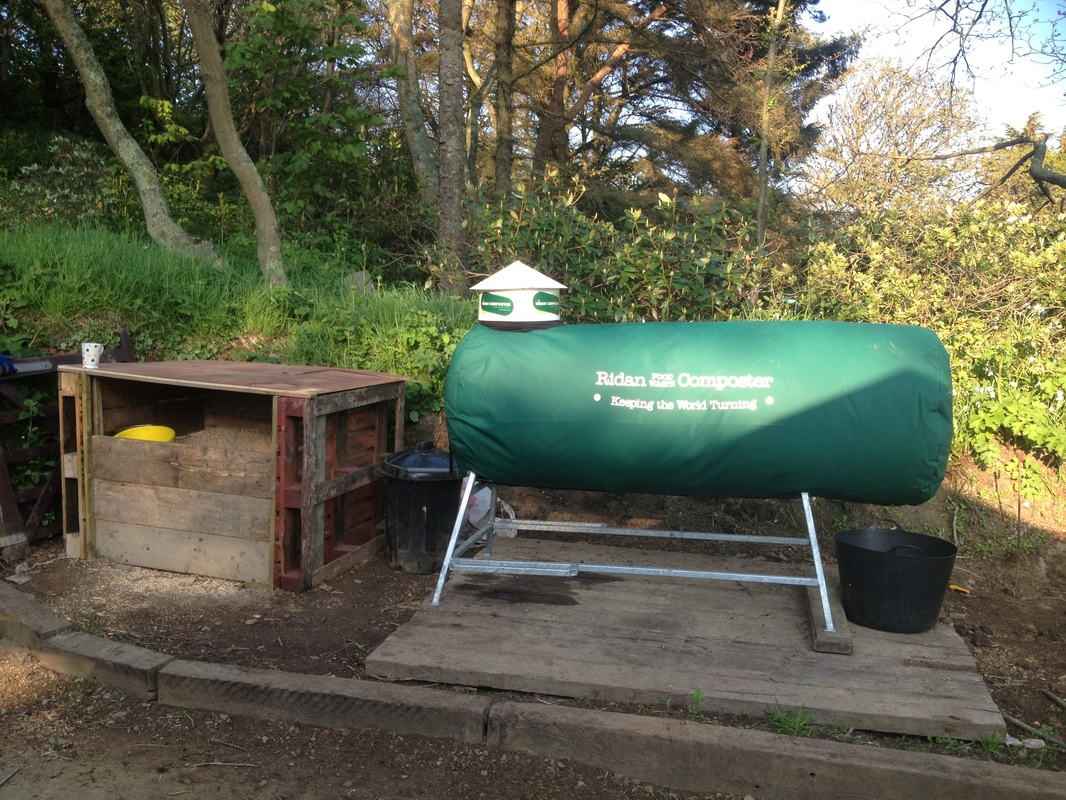 Composter at Stocks Hotel, Sark