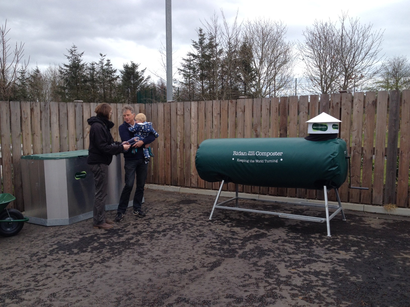 Ellon Academy gets composting