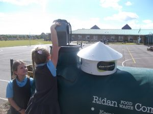 Damers First School Ridan Food Waste Composter