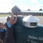 Poundbury food waste composting with Ridan