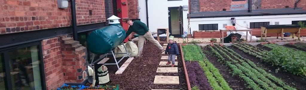 peat free compost with Ridan