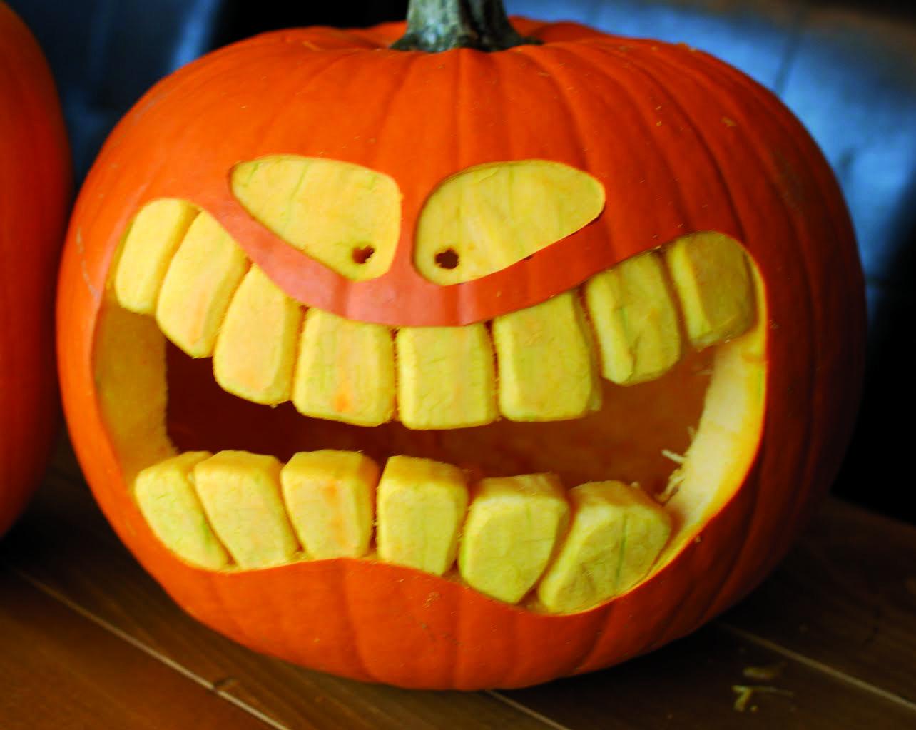 Pumpkin food waste